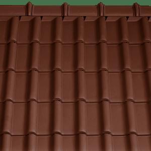 Tondach Rumba sötétbarna tetőcserép