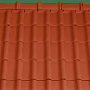 Tondach Rumba piros tetőcserép