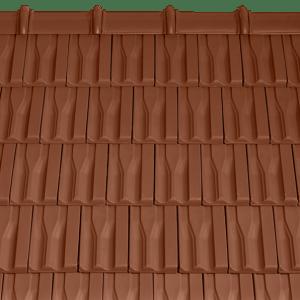 Tondach Tangó+ sütétbarna tetőcserép