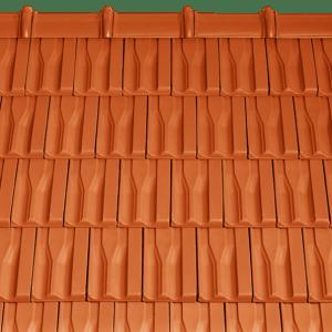 Tondach Tangó+ terrakotta tetőcserép