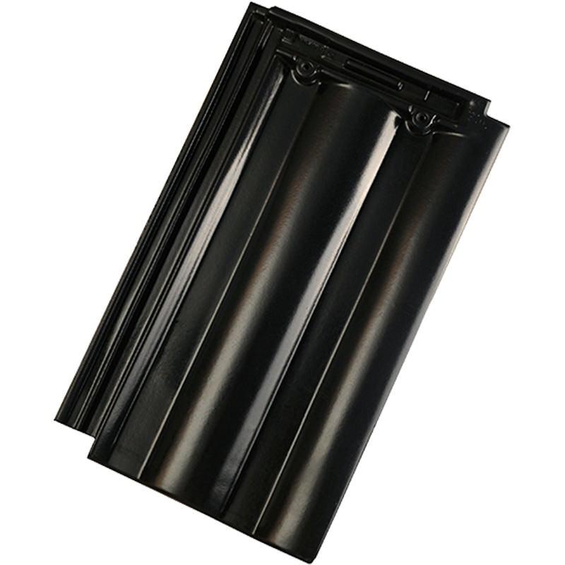 Tondach Twist Deluxe fekete tetőcserép