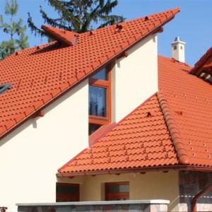 Bramac Római Novo rubinvörös tetőcserép