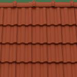 Tondach Twist rézbarna tetőcserép
