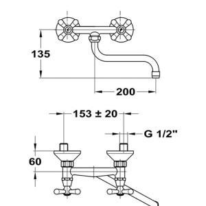 mofém treff mosogató csaptelep 142-0010-30